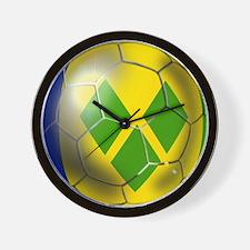 Saint Vincent Football Wall Clock