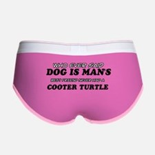 Cooter Turtle Designs Women's Boy Brief