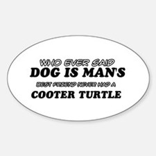 Cooter Turtle Designs Decal