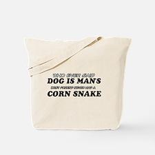 Corn Snake Designs Tote Bag