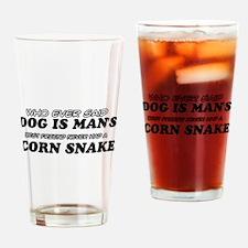 Corn Snake Designs Drinking Glass