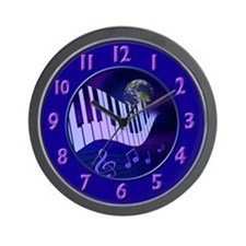 Music Themed Wall Clock