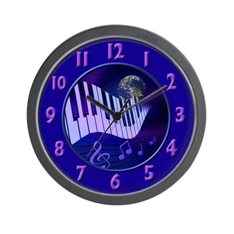 Music Themed Wall Clock