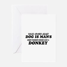 Donkey Designs Greeting Cards (Pk of 20)
