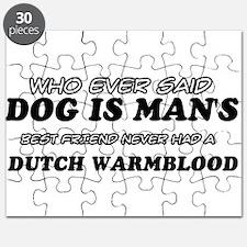 Dutch Warm Blood Designs Puzzle
