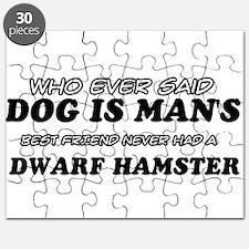 Dwarf Hamster Designs Puzzle