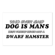 Dwarf Hamster Designs Postcards (Package of 8)