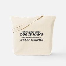 Dwarf Lionfish Designs Tote Bag