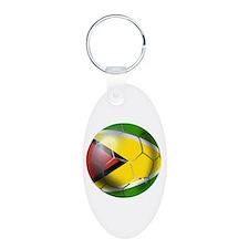 Guyana Football Keychains