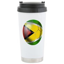 Guyana Football Travel Mug