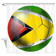 Guyana Football Shower Curtain