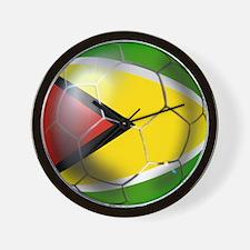 Guyana Football Wall Clock