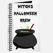 witchs halloween brew Journal