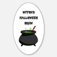 witchs halloween brew Decal