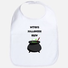 witchs halloween brew Bib