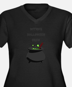 witchs halloween brew Plus Size T-Shirt