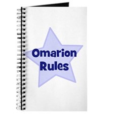Omarion Rules Journal