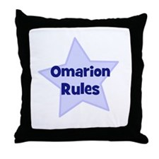 Omarion Rules Throw Pillow