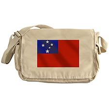 Flag of Samoa Messenger Bag
