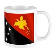Papau New Guinea Flag Mug