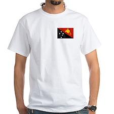 Papau New Guinea Flag Shirt