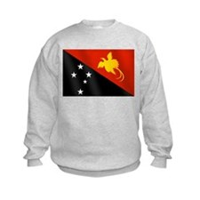 Papau New Guinea Flag Sweatshirt