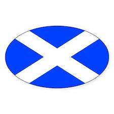 Scotland flag Rectangle Decal