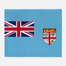 Flag of Fiji Throw Blanket