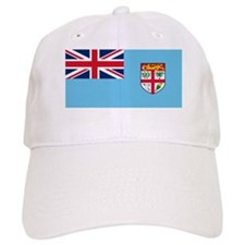 Flag of Fiji Baseball Cap