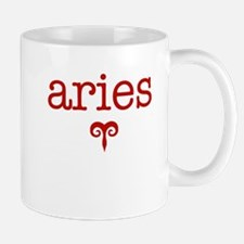 Red Aries Mug