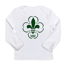 Lithuanian Scout Logo Long Sleeve Infant T-Shirt