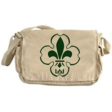 Lithuanian Scout Logo Messenger Bag