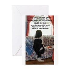 loyalty and devotion Greeting Card