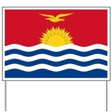 Flag of Kiribati Yard Sign