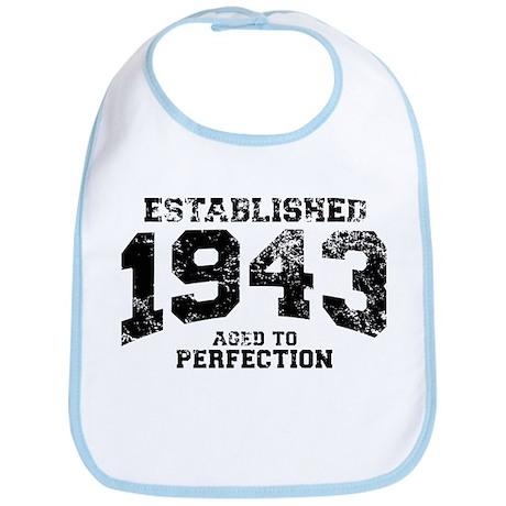 Established 1943 - Aged to perfection Bib
