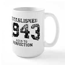 Established 1943 - Aged to perfection Mug