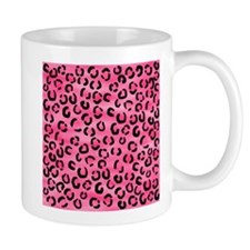 Bright Pink Leopard Print. Mug
