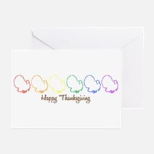 Happy Thanksgiving (Rainbow T Greeting Cards (Pack