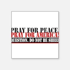Pray For America! Sticker