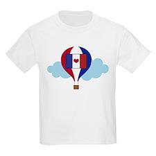 France Pride Hot Air Balloon T-Shirt