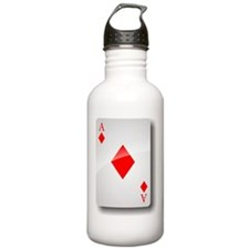 Ace of Diamonds Water Bottle