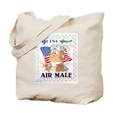 AIR MALE Tote Bag