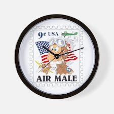 AIR MALE Wall Clock