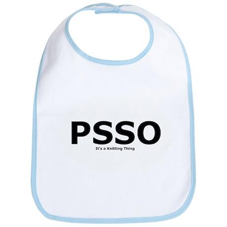 PSSO - It's a Knitting Thing Bib