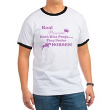 Real Pricesses Don't kiss Frogs! T-Shirt
