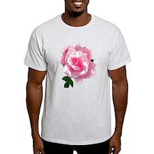 pink rose T-Shirt