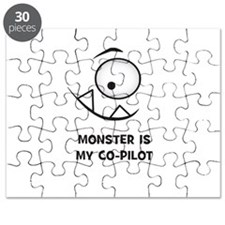 Monster is my Co-Pilot Puzzle