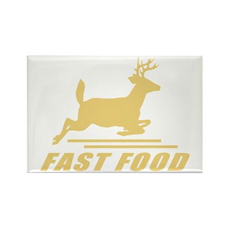 Fast Food Deer Rectangle Magnet (10 pack)