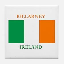 Killarney Ireland Tile Coaster
