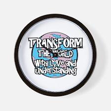 TRANSform The World Wall Clock